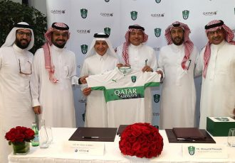 Qatar Airways renews its sponsorship agreement with Al Ahli Saudi FC (Photo courtesy: Qatar Airways)
