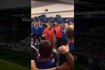 Arminia Bielefeld assistant coach Carsten Rump deliver epic team talk