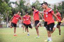 Bengaluru FC players in training (Photo courtesy: Bengaluru FC)