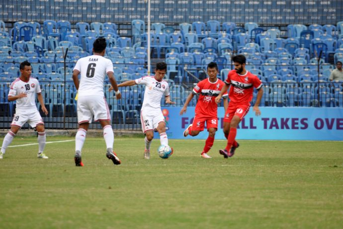 Shillong Lajong FC and DSK Shivajians FC bow out of Federation Cup (Photo courtesy: Shillong Lajong FC)