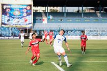 Bengaluru FC defender Juanan Gonzalez in action against DSK Shivajians (Photo courtesy: Bengaluru FC)
