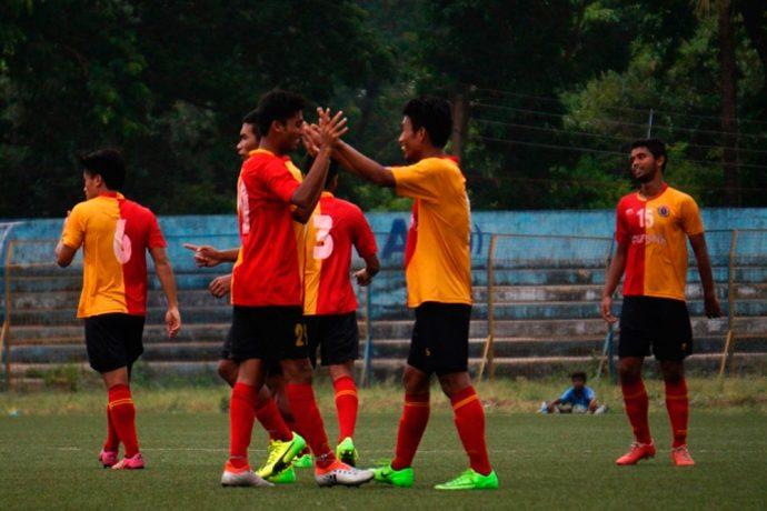 East Bengal Club U-18 team (Photo courtesy: AIFF Media)