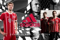 adidas Football reveals FC Bayern Munich Home Kit for the 2017/18 season (Photo courtesy: adidas)