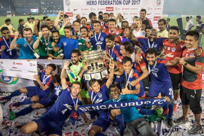 Bengaluru FC edge out Mohun Bagan to win Federation Cup (Photo courtesy: Bengaluru FC)