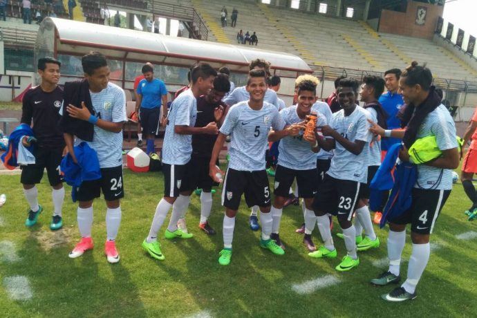 India U-17 World Cup squad (Photo courtesy: AIFF Media)