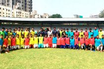 Scouted players from Universities & Santosh Trophy attend India U-23 trials (Photo courtesy: AIFF Media)