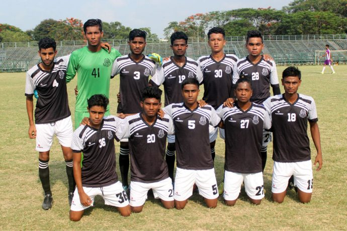 Mohammedan Sporting Club U-19 (Photo courtesy: Mohammedan Sporting Club)