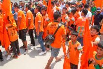 Neroca FC fans in Imphal (Photo courtesy: AIFF Media)