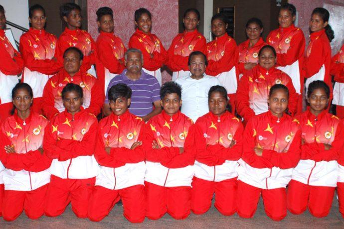 Odisha Women's State Team (Photo courtesy: Football Association of Odisha)