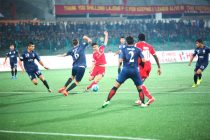 Shillong Lajong face DSK Shivajians in the last Group B match (Photo courtesy: Shillong Lajong FC)