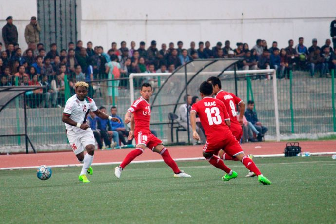 Shillong Lajong to face Mohun Bagan (Photo courtesy: Shillong Lajong FC)
