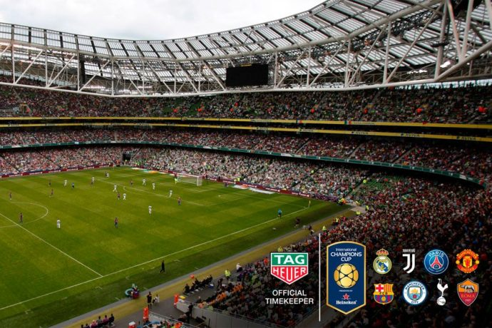 TAG Heuer is the Official Timekeeper of the International Champions Cup (Photo courtesy: TAG Heuer)
