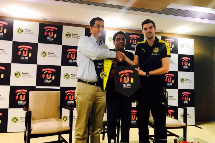 Tata Trusts U Dream Football enter technical tie-up with Bundesliga side Borussia Dortmund (Photo courtesy: Tata Truts U Dream Football)