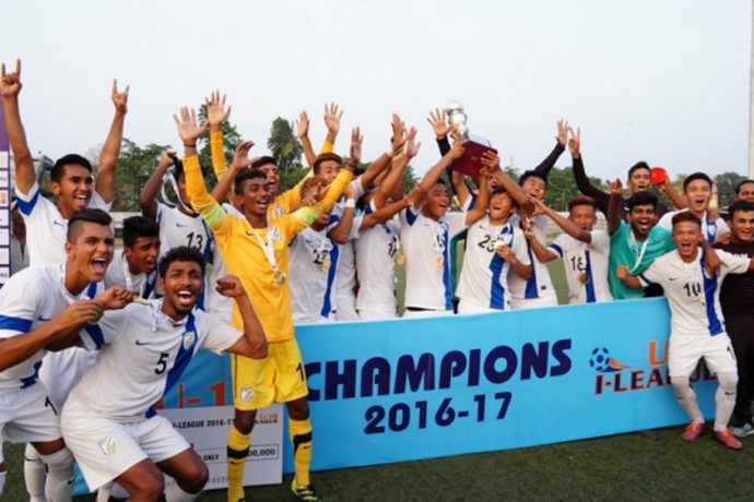 AIFF Elite Academy beat East Bengal to clinch U-18 I-League title (Photo courtesy: AIFF Media)