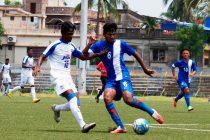 U-18 I-League match action action between AIFF Elite Academy (Goa) and Bengaluru FC. (Photo courtesy: AIFF Media)