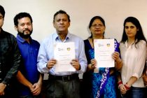 AIFF enter into a MoU with Amity University Uttar Pradesh (Photo courtesy: AIFF Media)