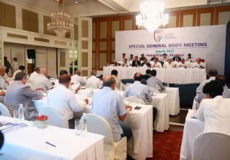 AIFF Special General Body Meeting held in Mumbai (Photo courtesy: AIFF Media)