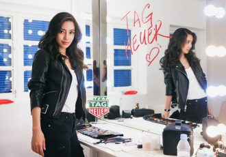 TAG Heuer proudly announces Angelababy to be the new Brand Ambassador (Photo courtesy: TAG Heuer)