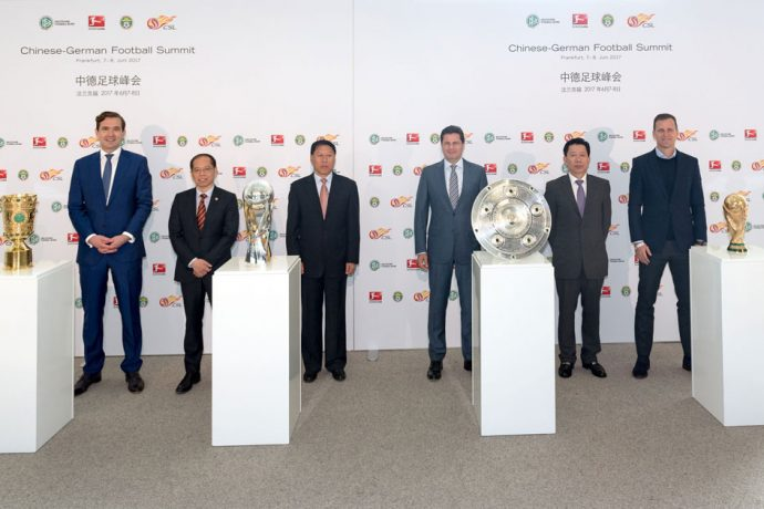 First Chinese-German Football Summit held in Frankfurt (Photo courtesy: DFL)