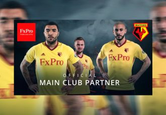 FxPro and Watford FC Announce Sponsorship Agreement (Photo courtesy: PRNewsfoto/FxPro)