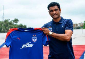 Naushad Moosa joins Bengaluru FC as Indian Assistant Coach (Photo courtesy: Bengaluru FC)