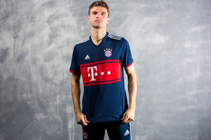 FC Bayern revive old fan favorite with new adidas 2017/18 Away Jersey (Photo courtesy: adidas)