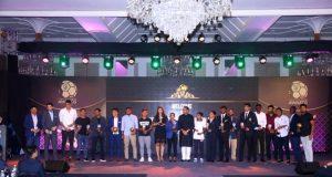 The winners of the AIFF Awards 2017. (Photo courtesy: AIFF Media)