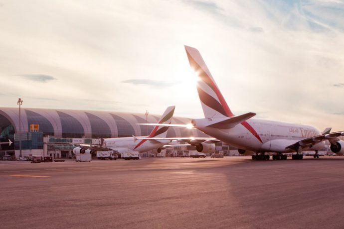 Travellers departing from Dubai International Airport Terminal 3 can look forward to a smoother airport experience with the implementation of two new initiatives involving biometric technology and new automated border control gates, that will streamline the check-in and immigration checks at departure. (Photo courtesy: Emirates)