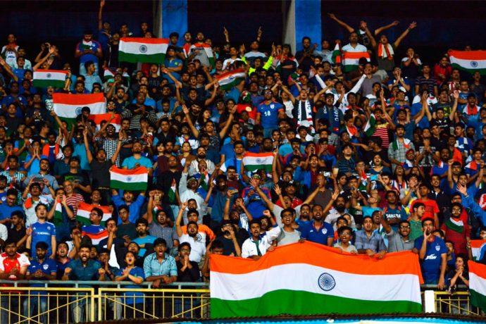 Indian national team fans (Photo courtesy: AIFF Media)