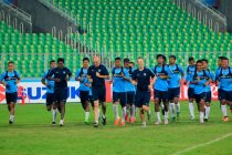 Indian national team training session in Mumbai (Photo courtesy: AIFF Media)