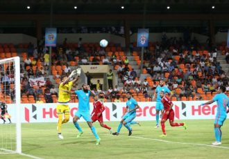India defeat Nepal 2-0 to continue winning streak (Photo courtesy: AIFF Media)