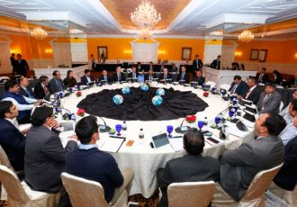 Indian football roundtable meeting at the AFC HQ in Kuala Lumpur (Photo courtesy: Asian Football Confederation)