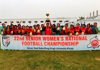 Manipur wins Senior Women's National Football Championship (Photo courtesy: AIFF Media)