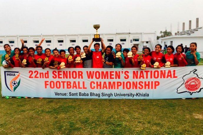 Manipur wins Senior Women's National Football Championship (Photo courtesy: AIFF Media)