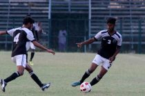 The Mohammedan Sporting Club U-19 team in action (Photo courtesy: Mohammedan Sporting Club)