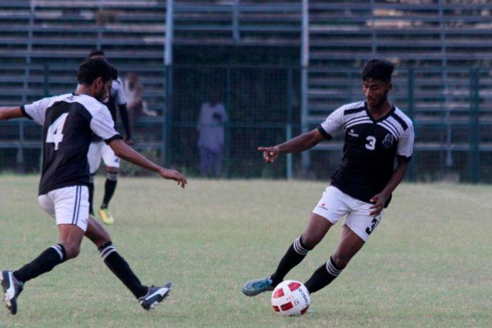 The Mohammedan Sporting Club U-19 team in action (Photo courtesy: Mohammedan Sporting Club)