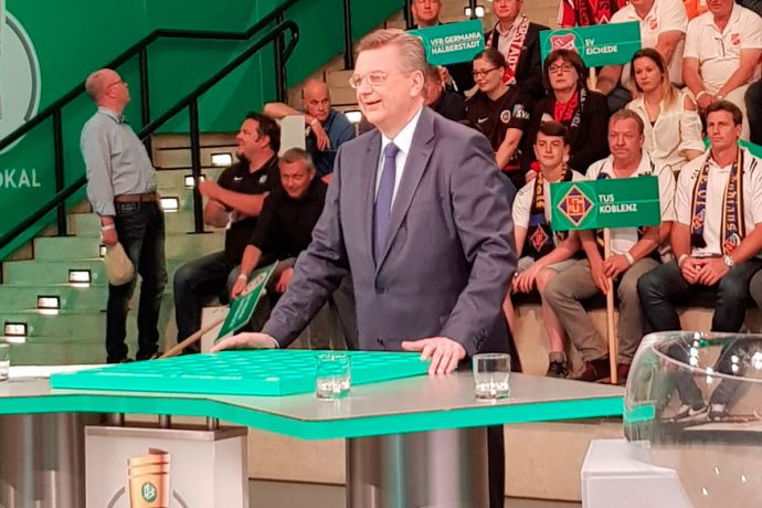 DFB President Reinhard Grindel (Photo courtesy: CPD Football)