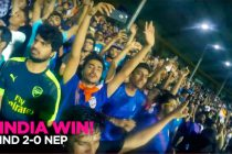 VIDEO - Superpower Football: India vs Nepal - Mumbai Goes Wild!