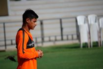Indian national team star Eugeneson Lyngdoh (Photo courtesy: AIFF Media)