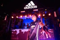 Straight from the stadium to the street – adidas and Manchester United light up Hollywood (Photo courtesy: adidas)