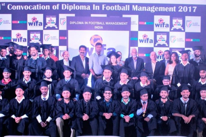 48 students graduate as Football Managers from 1st WIFA-Skillination Diploma Course (Photo courtesy: WIFA)
