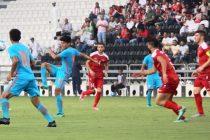 India U-23 go down to Syria U-23 in AFC U-23 Chammpionship Qualifying opener (Photo courtesy: AIFF Media)