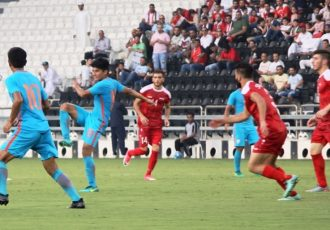 India U-23 go down to Syria U-23 in AFC U-23 Chammpionship Qualifying opener (Photo courtesy: AIFF Media)