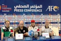 AFC U-23 Championship China 2018 Qualifiers Press Conference (Photo courtesy: AIFF Media)