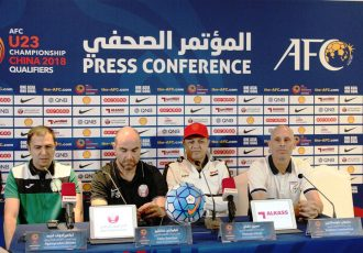 AFC U-23 Championship China 2018 Qualifiers Press Conference (Photo courtesy: AIFF Media)