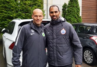 Freddie Ljungberg and Chris Punnakkattu Daniel (CPD Football)