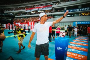Cristiano Ronaldo visits China for his first individual tour (Photo courtesy: Nike)