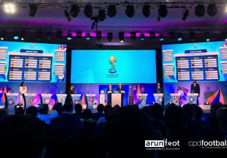 FIFA U-17 World Cup India 2017 Official Draw at the Sahara Star Hotel in Mumbai on July 7, 2017. (Photo courtesy: arunfoot / CPD Football)