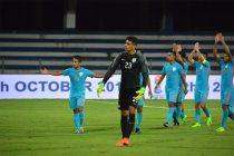 Indian national team goalkeeper Gurpreet Singh Sandhu (Photo courtesy: AIFF Media)