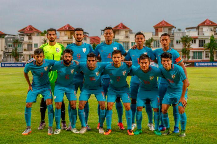 India U-23 national team (Photo courtesy: AIFF Media)